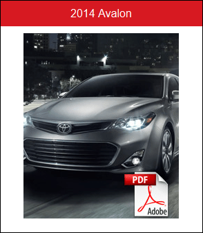 2014 Toyota Avalon Rochester MN