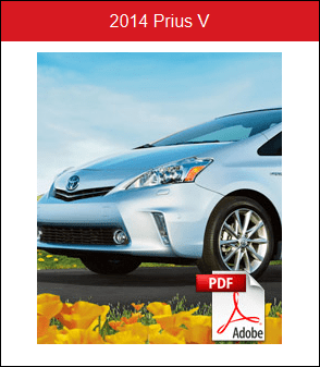 2014 Toyota PriusV Rochester MN