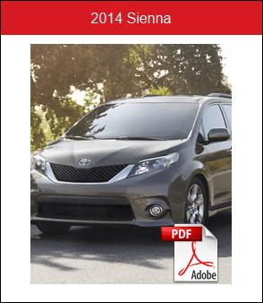 2014 Toyota Sienna Rochester MN