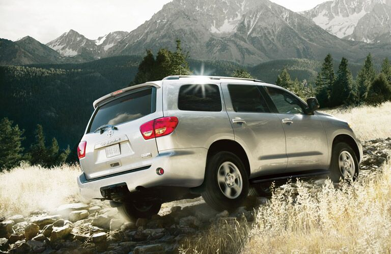 Driving Off Road on the 2017 Toyota Sequoia