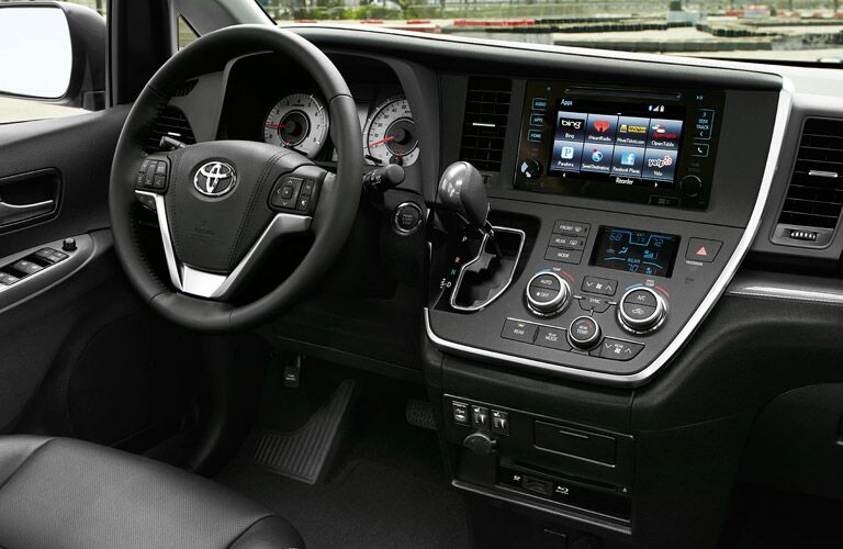 Interior Features on the 2016 Toyota Sienna
