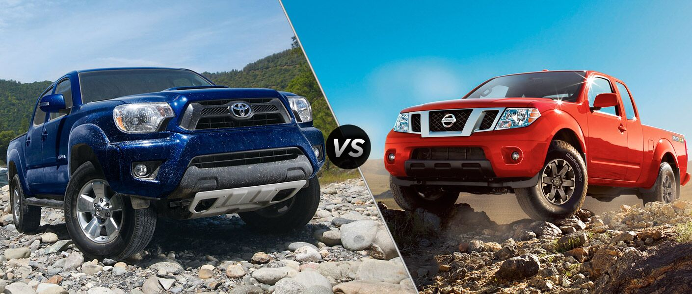 Check Out This Comparison Review Test Between The 2015 Toyota Tacoma Vs  2015 Nissan Frontier!