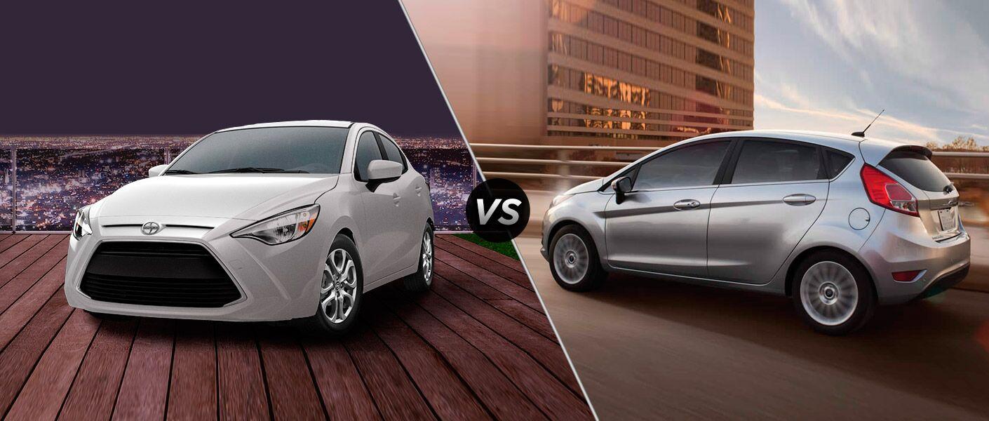 2016 Scion iA vs 2016 Ford Fiesta