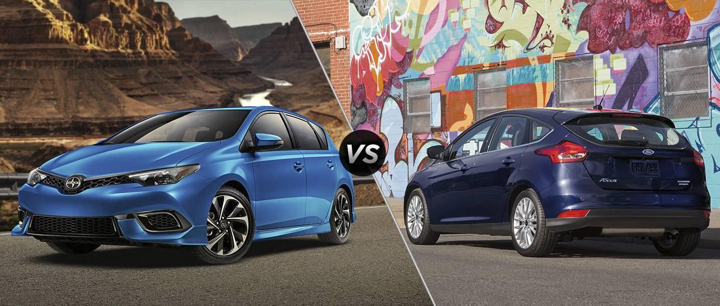2016 Scion iM vs 2016 Ford Focus