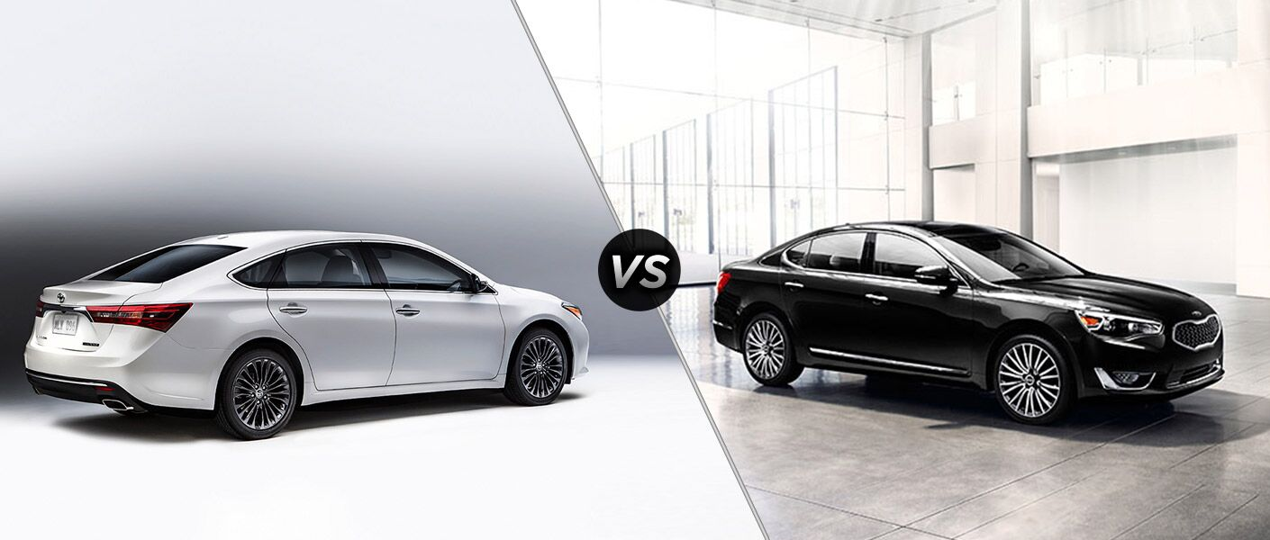 We Are Doing A Comparison Review Test Between The 2016 Toyota Avalon Vs  2016 Kia Cadenza