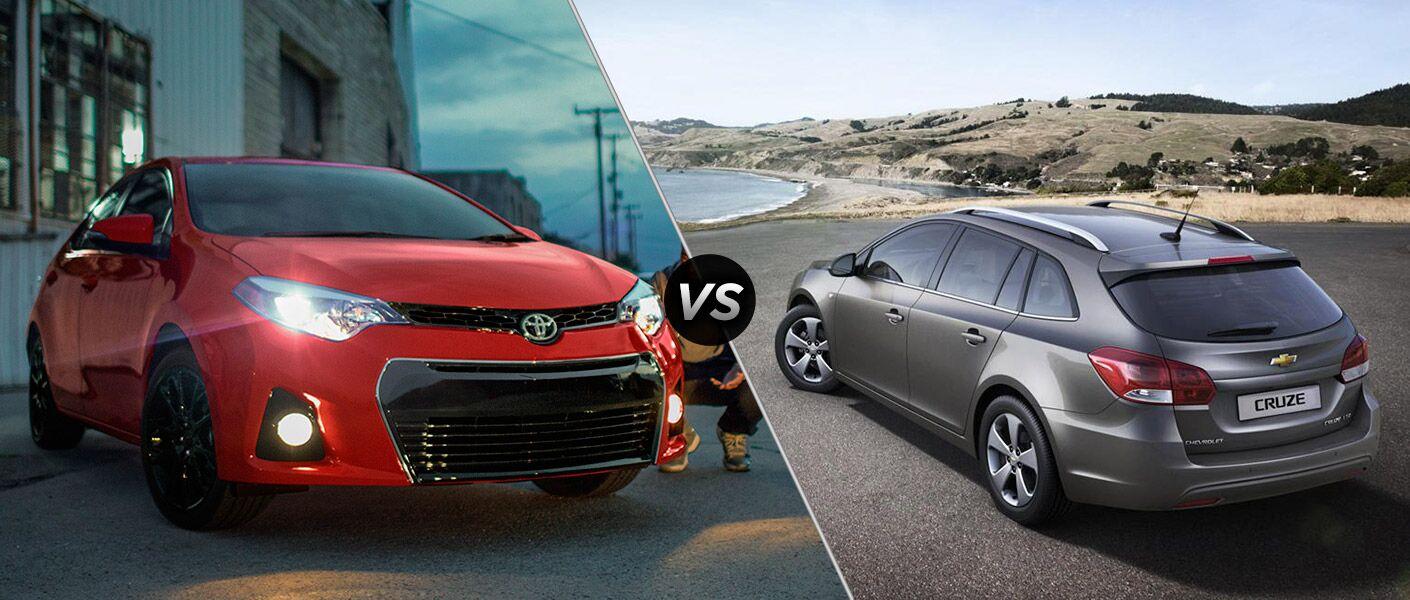 2017 Toyota Corolla vs 2017 Chevy Cruze