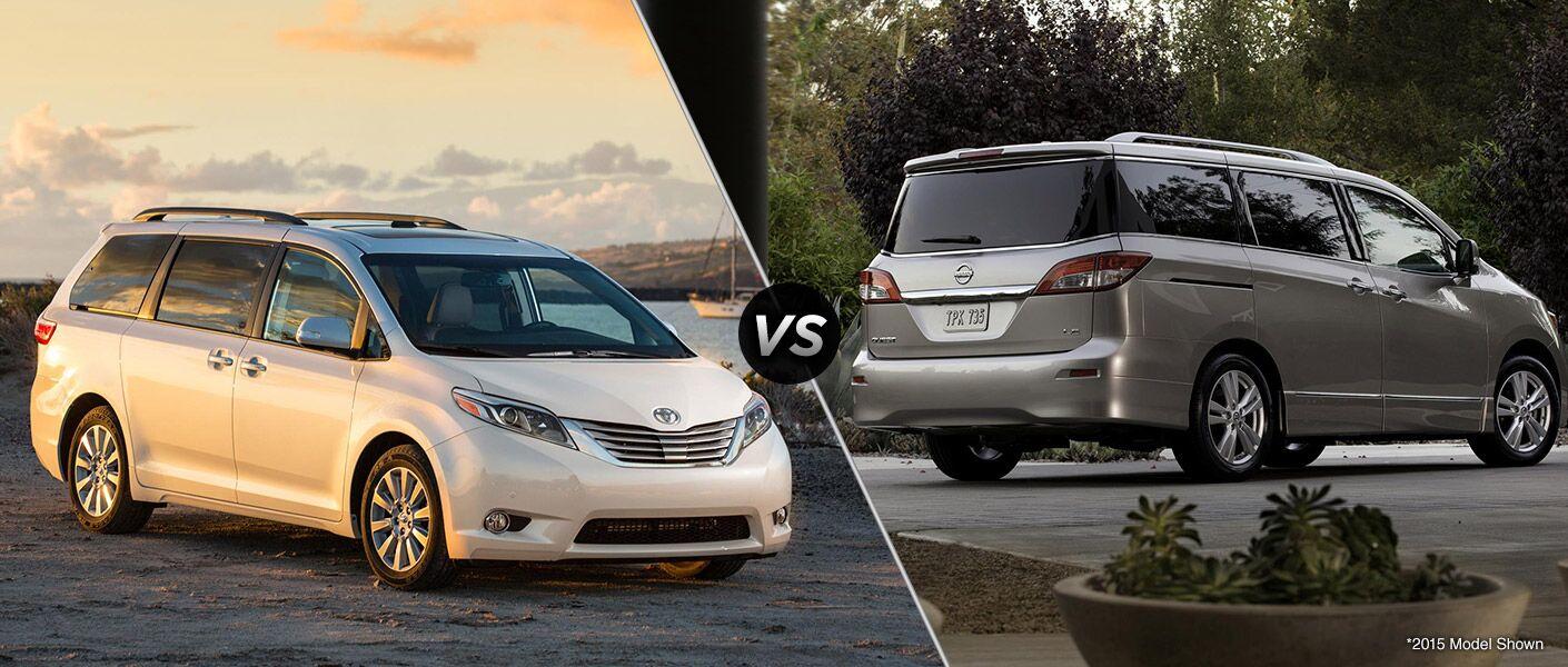 2016 Toyota Sienna vs 2016 Nissan Quest