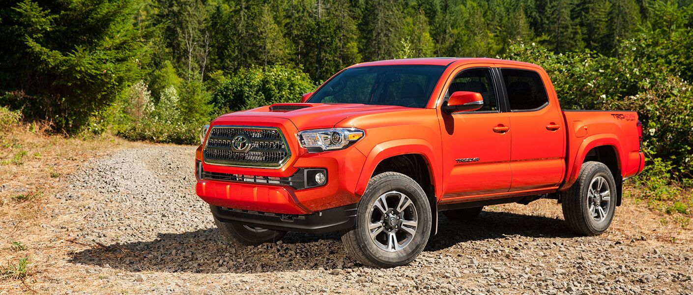 Styling of the 2016 Toyota Tacoma