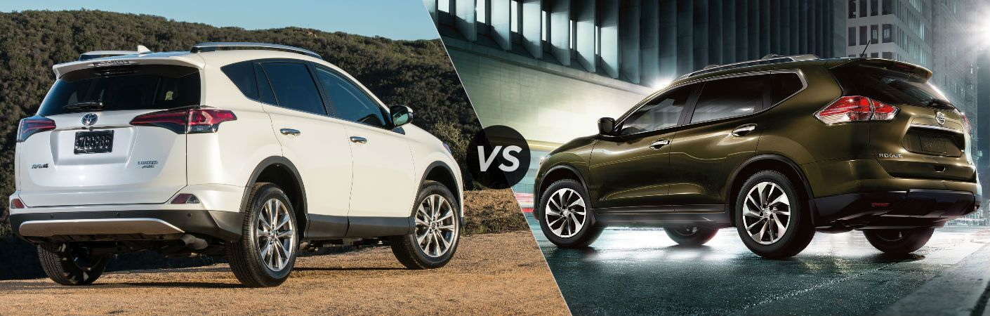 2017 Toyota RAV4 vs 2017 Nissan Rogue