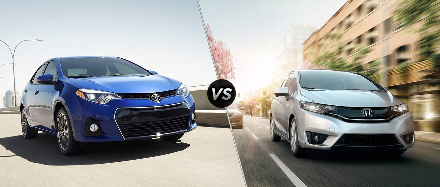 2016 Toyota Corolla vs 2016 Honda Fit