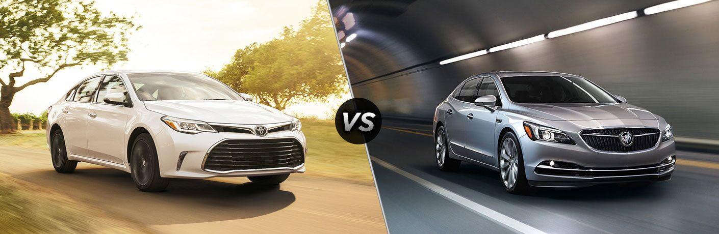 2017 Toyota Avalon vs 2017 Buick LaCrosse
