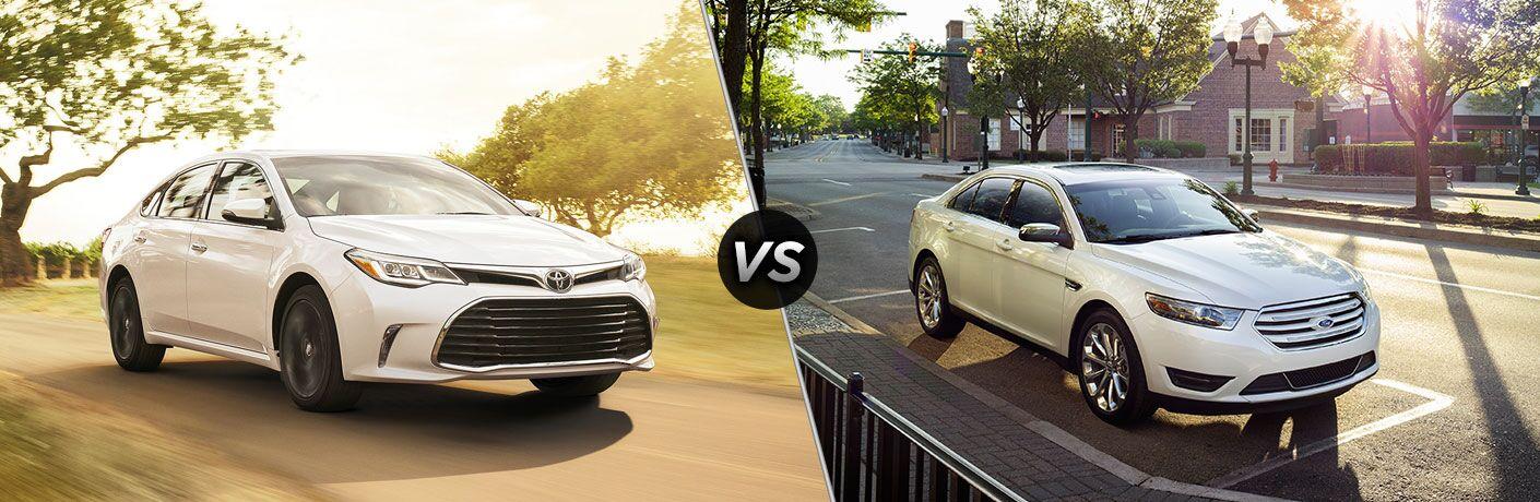 2017 Toyota Avalon vs 2017 Ford Taurus