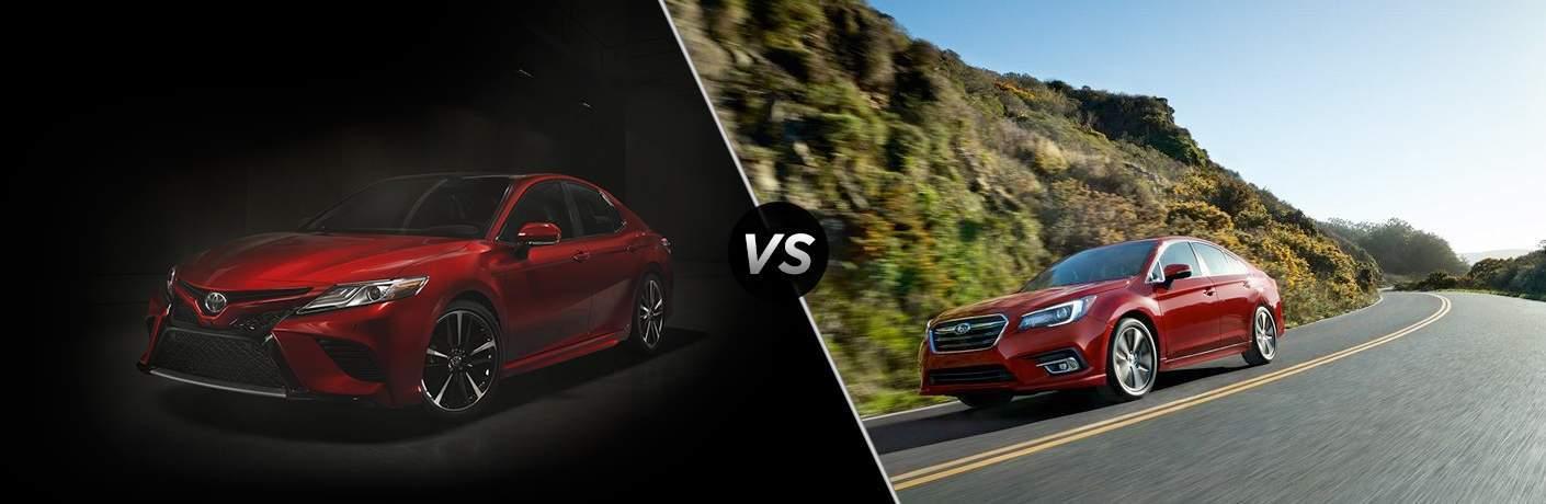 2018 Toyota Camry vs 2018 Subaru Legacy