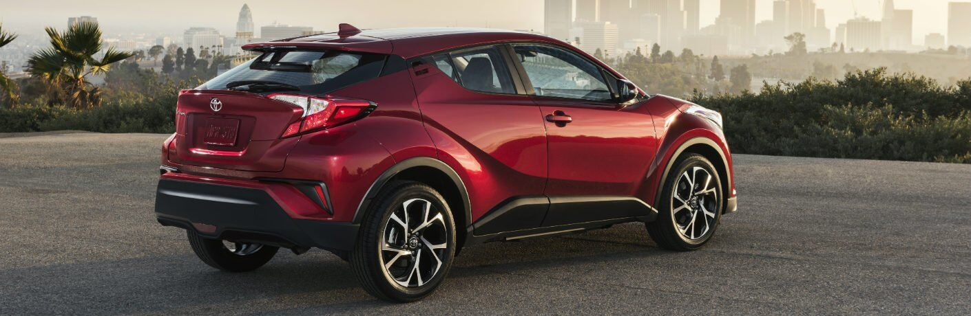 rear side view of the 2018 Toyota C-HR