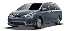 Rent a Toyota Sienna in Rochester MN