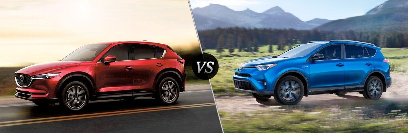 2018 Mazda CX-5 vs 2018 Toyota RAV4