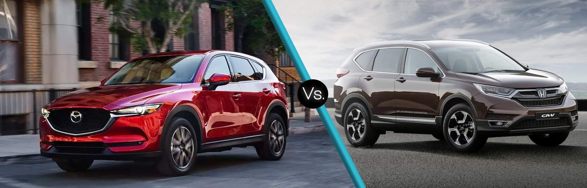 2017 Mazda CX 5 Vs 2017 Honda CRV