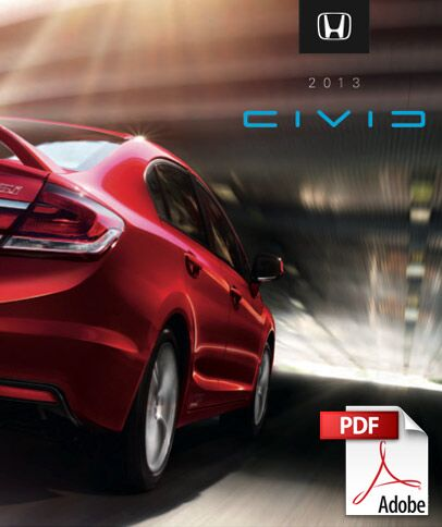 2013 Civic Brochure PDF