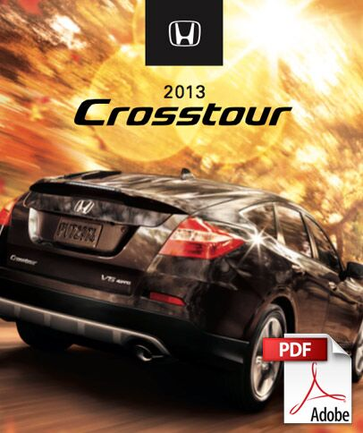 2013 Crosstour Brochure PDF