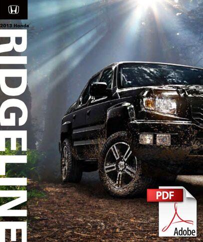2013 Honda Ridgeline Brochure PDF
