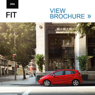 2016 Honda Fit Brochure