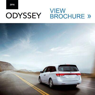 2016 Honda Odyssey Brochure