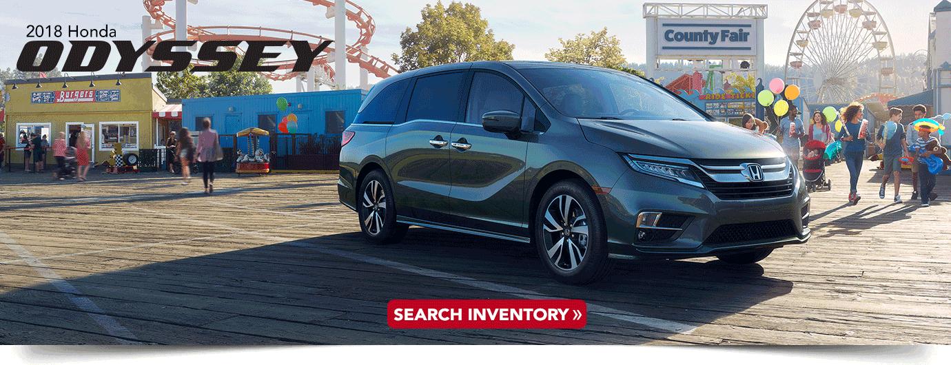 2018 Honda Odyssey research
