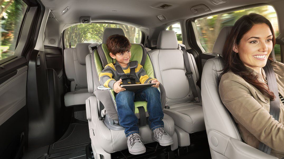 2018 Odyssey family seating