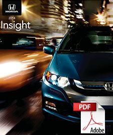 2014 Honda Insight Brochure