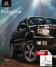 2014 Honda Ridgeline Brochure