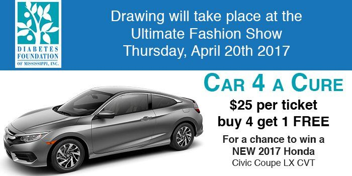 Car 4 a cure Honda Civic Raffle