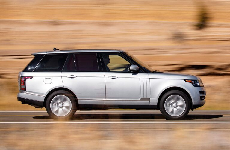 2016 Land Rover Range Rover Supercharged on the road