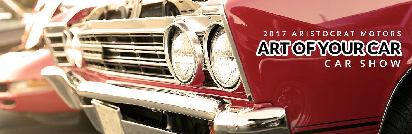 Aristocrat Motors Art of Your Car Show 2017