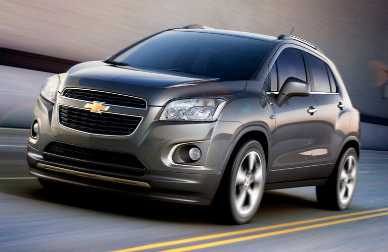 Gray Chevy Equinox on a highway