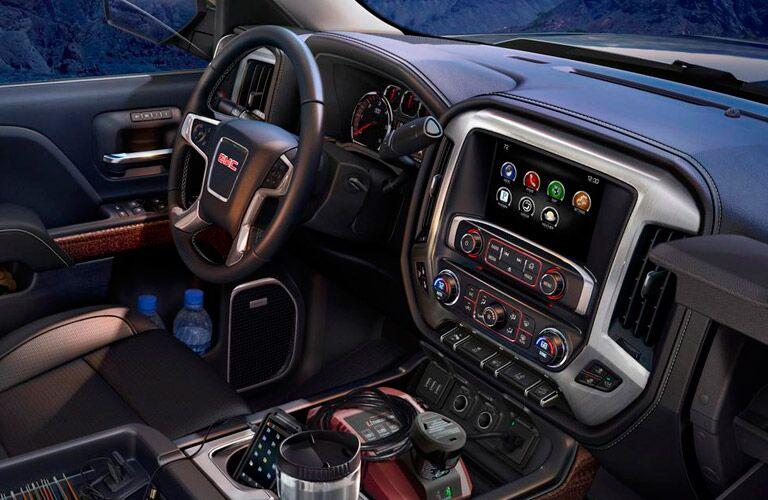 gmc sierra 1500 interior view