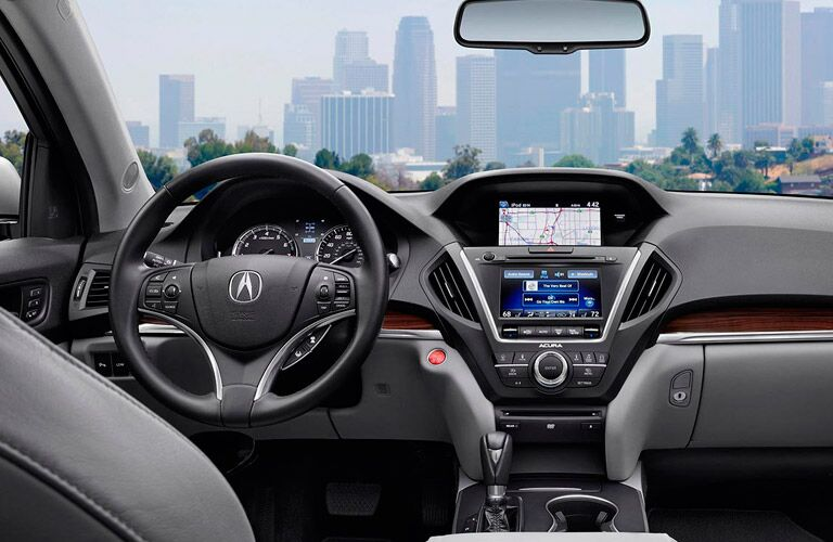 Used Acura MDX interior features and options