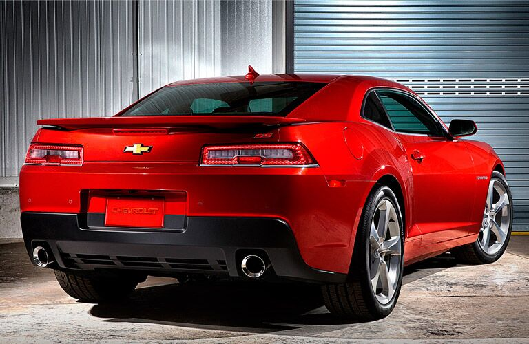 Chevy Camaro back red