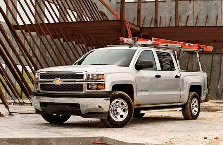 2015 Chevrolet Silverado 1500 at work