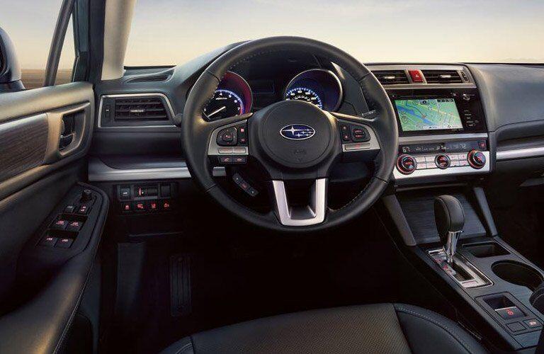 Used Subaru Legacy interior