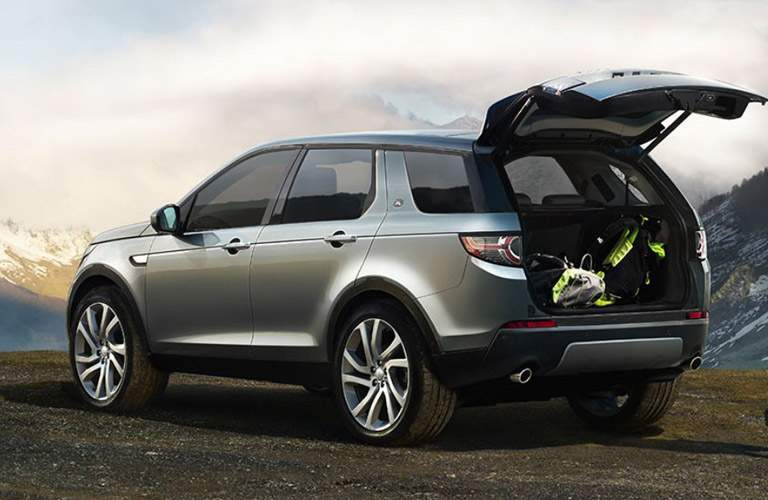 Land Rover Discovery Sport with open liftgate
