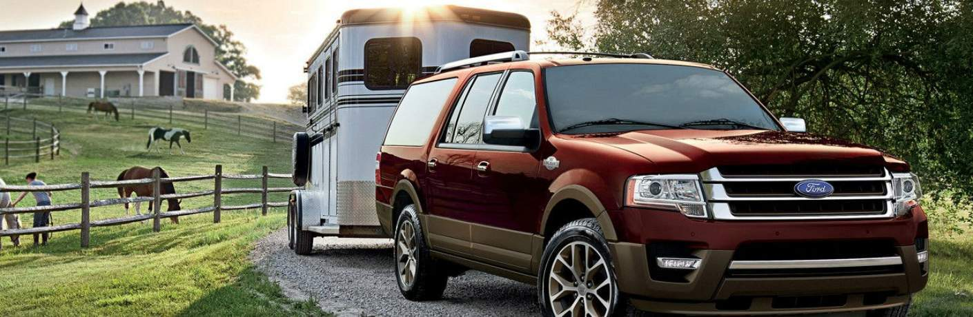 Ford Expedition Towing a Trailer