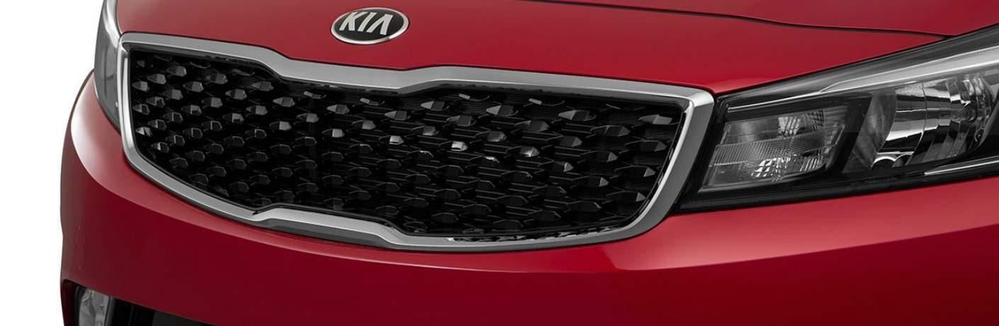 2017 Forte Front Grille and Fascia