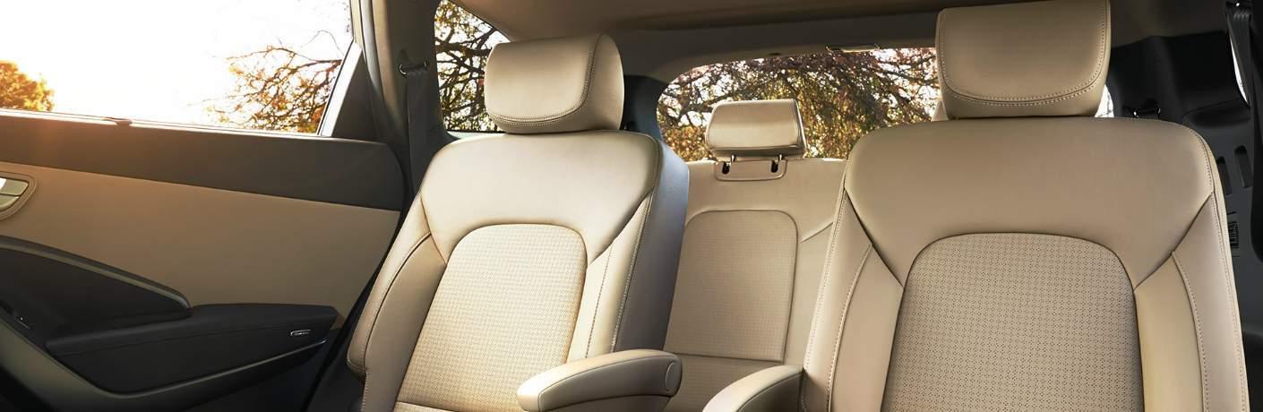 Rear Seats Inside the Hyundai Sonata