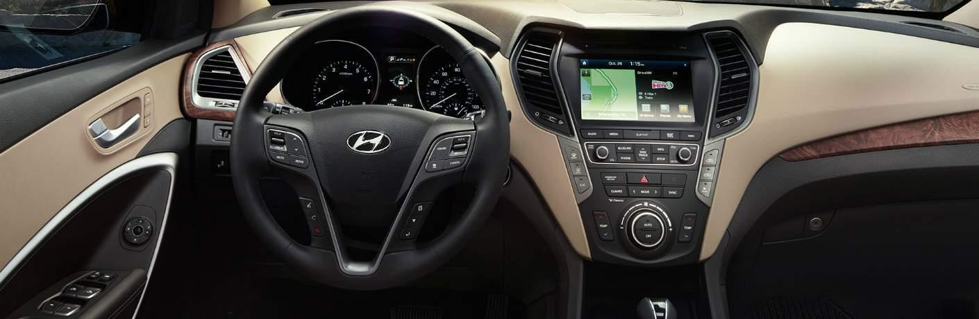 Driver Command Center Inside the Hyundai Sonata