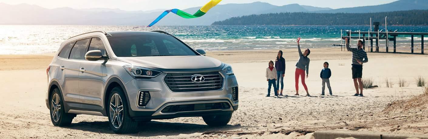 Hyundai Sonata at the Beach