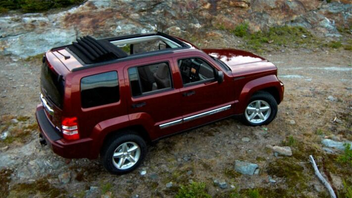 jeep liberty roof rack install