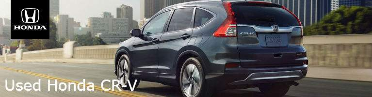 Learn more about the used Honda CR-V