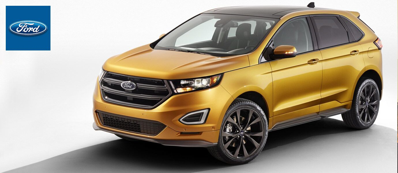 Front of the 2017 Ford Edge