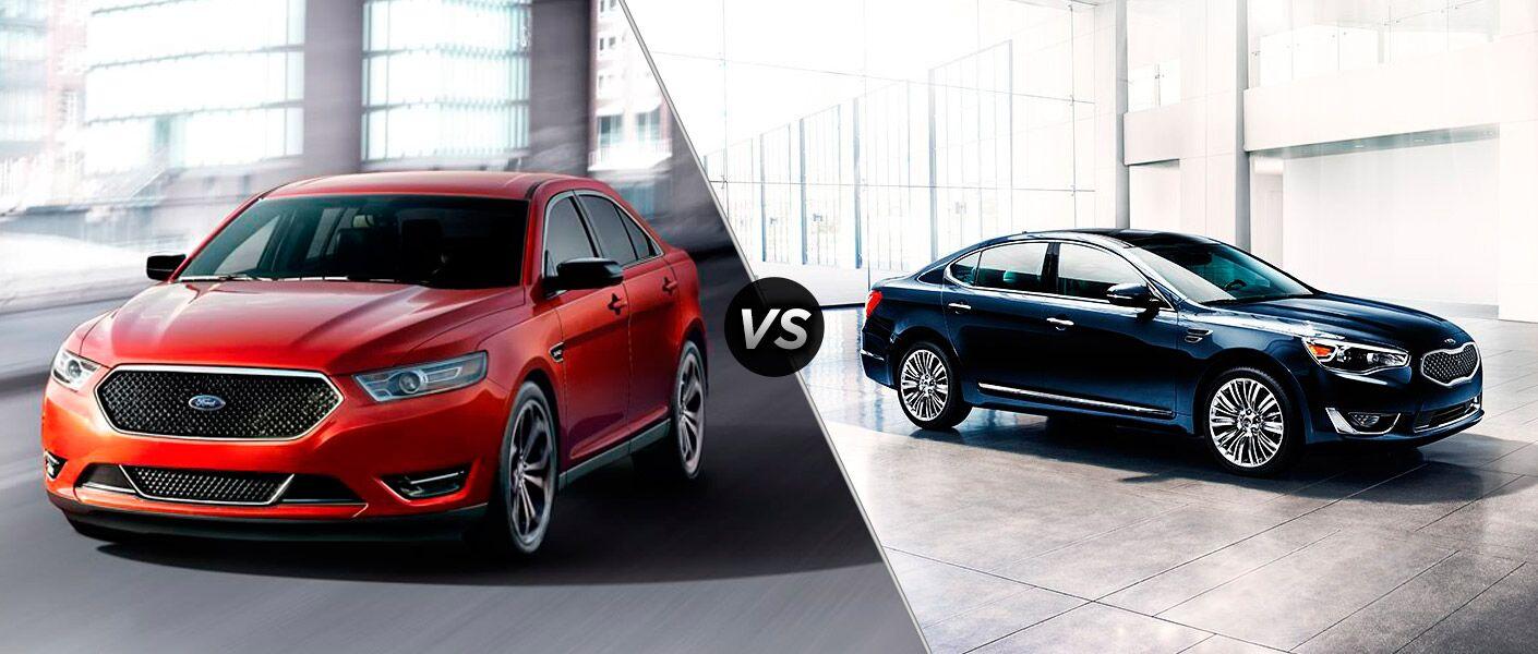 2016 Ford Taurus vs 2016 Kia Cadenza