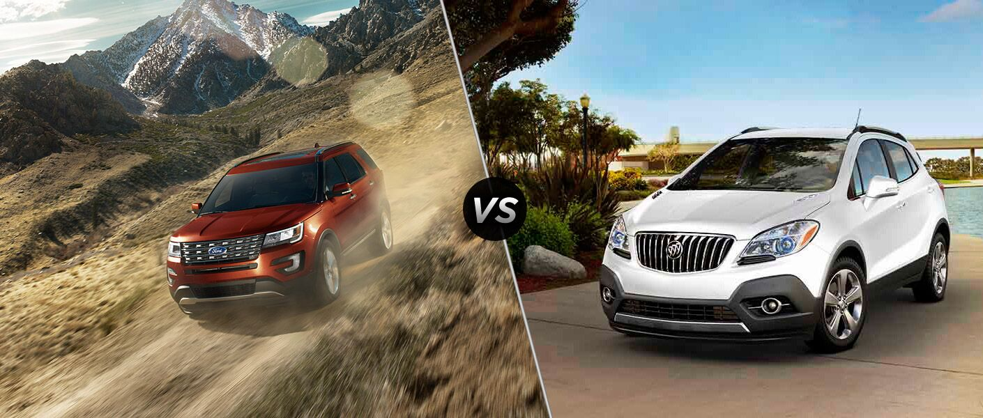 2016 Ford Explorer vs 2016 Buick Encore